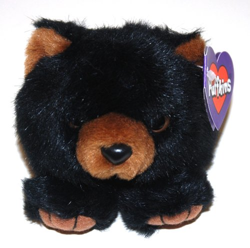 Puffkins Plush, Benny the Black Bear (1 Each) [Toy]
