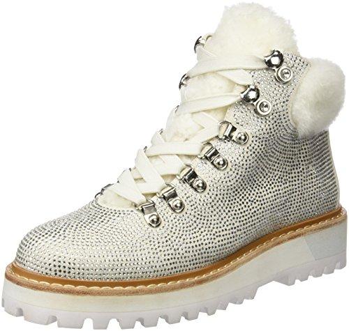 LOLA CRUZ Donna 310Z00BK stivali bianco Size: 36 EU