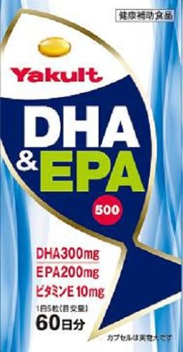 ヤクルト DHA&EPA500 300粒