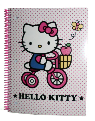 Hello Kitty One Subject Notebook