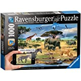 Animals in Africa, 1000-Pieces Augmented Reality Puzzle
