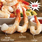 Lobster Gram CSH4 4 LBS OF COLLOSAL COOKED SHRIMP by Lobster Gram