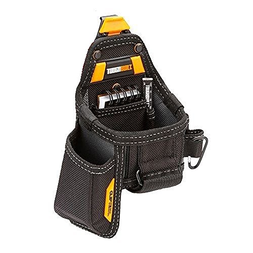 Tape Measure with Utility Knife Pouch, Black