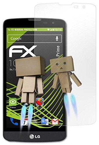 atFoliX Protettore Schermo LG L Prime Pellicola a specchio - FX-Mirror con effetto specchio