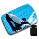 Killer Whale Splashing For Amazon Kindle Fire & Kindle 3G Keyboard Soft Protection Neoprene Case Cover Sleeve Bag With Pocket which is Ideal for Headphones, Data Cable etc