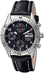 Revue Thommen Men's 16007.6537 Airspeed Classic Automatic Black Dial Watch