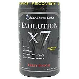 Evolution X7, Fruit Punch, 300gm, From StarChem Labs