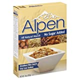 Alpen Cereal, No Sugar Added, 14-Ounce Box - Pack of 3