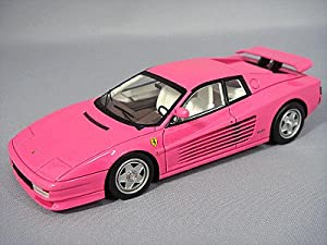 Amazon.com: Ferrari Testarossa 1984 w/Wing (Pink): Toys