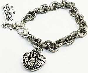 brighton big apple new york silver bracelet