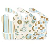Bumkins Waterproof SuperBib 3-Pack - Boy Elements Prints ~ Bumkins