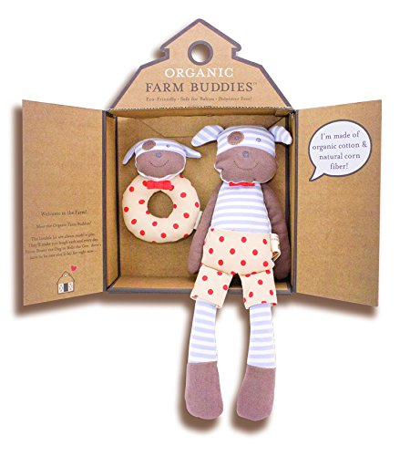 Organic Farm Buddies, Boxer the Dog Gift Set