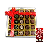 Chocholik Belgium Chocolate Gifts - Stunning Collection Of Truffles With 3d Mobile Cover For IPhone 6 - Diwali...
