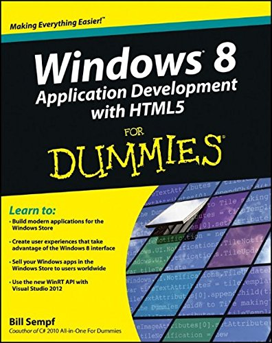 Windows 8 Application Development with HTML5 For Dummies (Windows 8 Application Development compare prices)