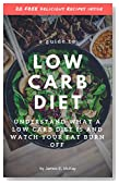 Low Carb Diet Guide: Understand what a low carb diet is and watch your fat burn off. (Healthy Cooking, Low Carb Diet, Low Carb Recipes, Low Carb Cookbook, Eat Fat, Burn Fat, High Protein)