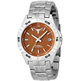 Fossil Men's LI2732 NCAA Texas Longhorns Round Dial Watch