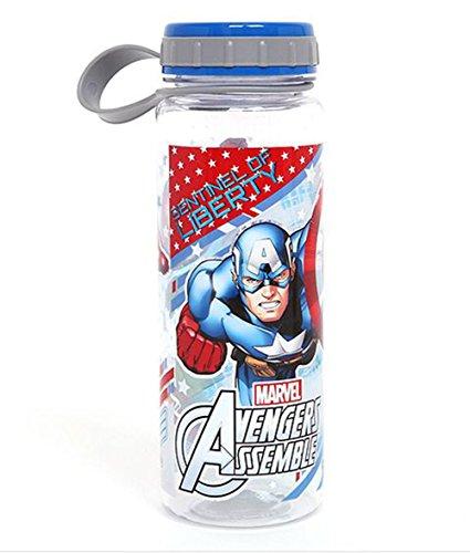 Marvel Smart Water Bottle 'Captain America'(500ml) EB5258