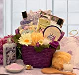Healing Spa Pampering Bath And Body Gift Basket For Her Mothers Day Gift Idea For Women