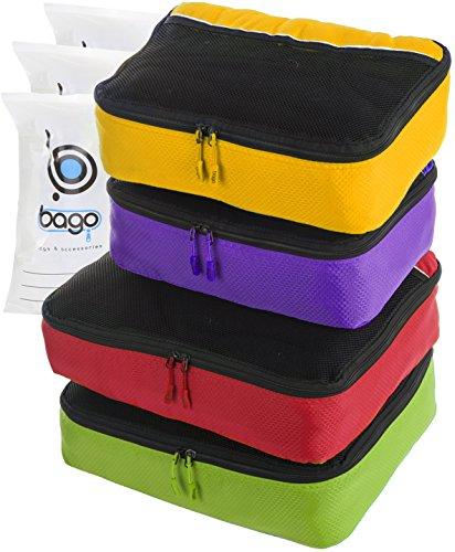 packing-cubes-4pcs-value-set-for-travel-plus-6pcs-luggage-organiser-zip-bags-greenredpurplyello