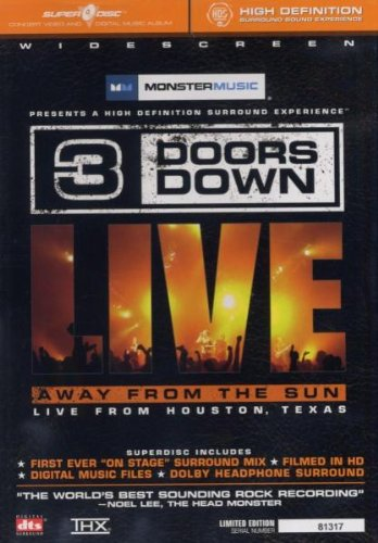 3 Doors Down - Away From The Sun (SuperDisc DVD)