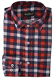 Edinwolf Men's Formal Shirt (EDFR712_42, Multi-Coloured, 42)