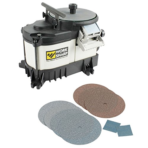 Work Sharp WS3000 WorkSharp Wood Tool Sharpener with WSSA Coarse Abrasives Kit (Work Sharp Heat Sink compare prices)