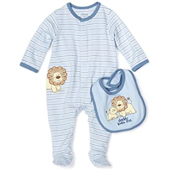 Set A Shopping Price Drop Alert For Little Me Baby-boys Newborn Lovable Lion Footie and Bib