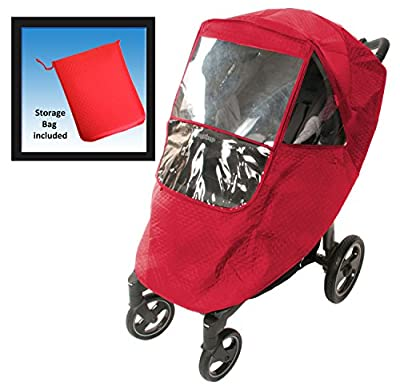 Comfy Baby! Universal Deluxe Insulated Stroller Weather Protector - Fits all Deluxe Umbrella, Full Size and Jogging Strollers