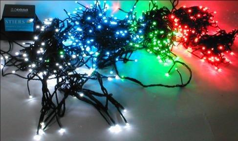 KONSTSMIDE LED Dioden Lichterkette 3052-550 rot 100 tlg. INNEN und AUSSEN