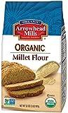 Arrowhead Mills Organic Gluten Free Millet Flour, 2 Pound (Pack of 6)