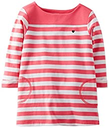 Carter\'s Baby Girls\' Knit Jersey Tunic (Baby) - Stripe - 12 Months