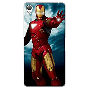 EYP Superheroes Ironman Back Cover Case for Sony Xperia Z3
