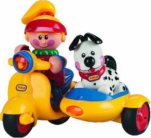 Tolo Toys First Friends Scooter With Puppy front-839294
