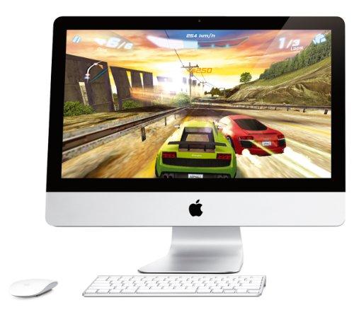 Apple iMac - All-in-one - 1 x Core i5 2.5 GHz - RAM 4 GB - HDD 1 x 500 GB - DVD±RW (±R DL) - Radeon HD 6750M - Gigabit Ethernet - WLAN : 802.11 a/b/g/n, Bluetooth 2.1 EDR - MacOS X 10.6 - Monitor : 21.5