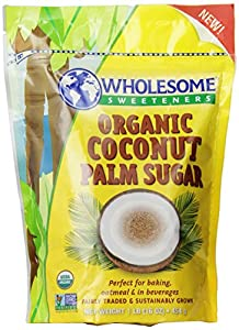 Wholesome Sweeteners Organic Coconut Sugar, 16-Ounce