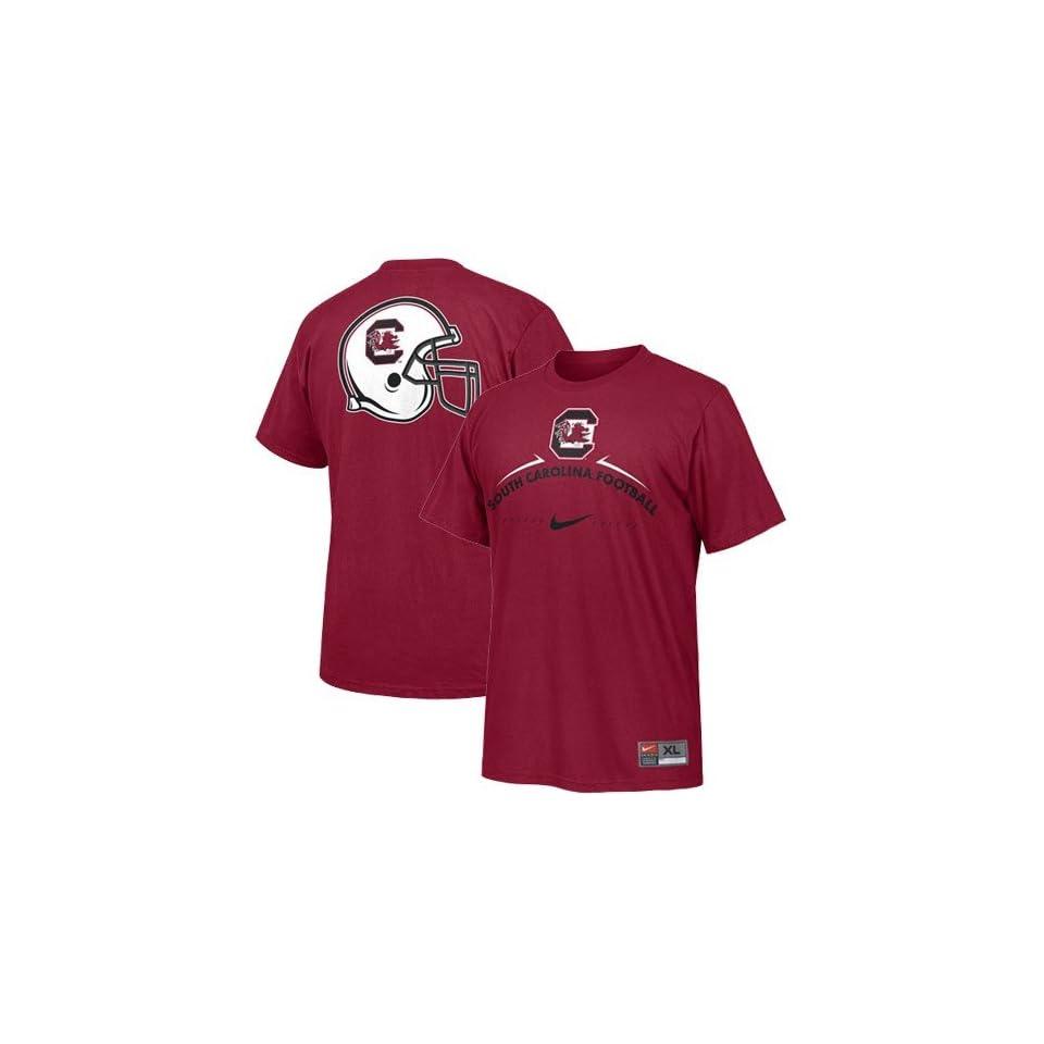 Nike South Carolina Gamecocks Garnet Practice T shirt