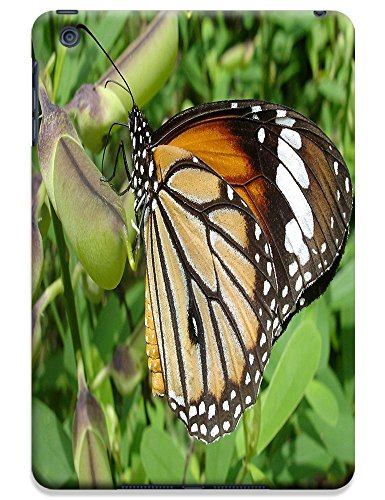 Fantastic Faye Cell Phone Cases For Ipad Mini No.1 The Beautiful Design With Colorful Butterfly Fly On The Leaves Or Flowers