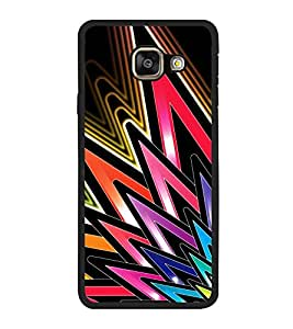 Vizagbeats Colored Spikes Back Case Cover for SAMSUNG GALAXY A5 2016 EDITION