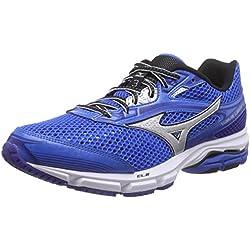 Mizuno Wave Legend 3, Scarpe da corsa uomo Blu Blau (ElecricBlue/Silver/Black 04) 43