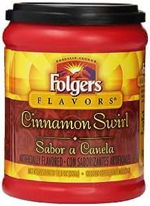 Folgers Cinnamon Swirl Coffee, 11.5 Ounce (Pack of 12)