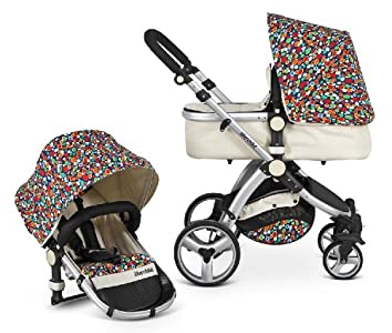The Best Uberchild EVO Full 2in1 Travel System Including FREE Maxi Cosi Car Seat Adapters