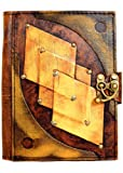 Embossed Diamond Vintage Style Handmade Leather Amazon Kindle Cover Case For Kindle Touch - Kindle 4 - Kindle 5 - Kindle Paperwhite