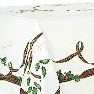 Amazon.com - Lenox Holiday Nouveau Tablecloth 60 X 120 ...