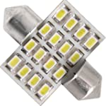 2X AMPOULE NAVETTE FESTOON A 16 LED 3...