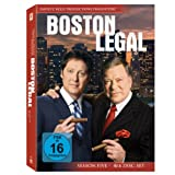 "Boston Legal - Season 5 [4 DVDs]von ""James Spader"""