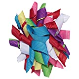 NeedyBee Multicoloured Korker Bow