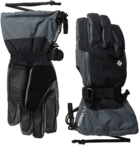 Columbia Men's Bugaboo Interchange Gloves, Black/Graphite, Large (Omni Heat Glove Liners compare prices)