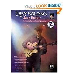 Easy Soloing For Jazz Guitar (Book & CD) (National Guitar Workshop)