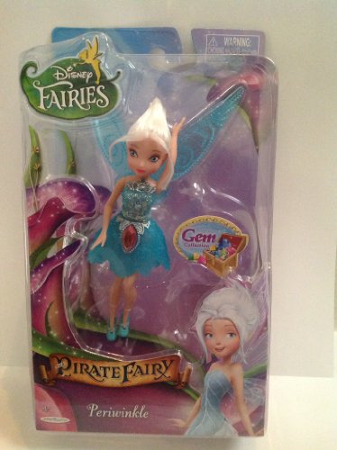 Disney Fairies Pirate Fairy Periwinkle Gem Collection by Jakks Pacific