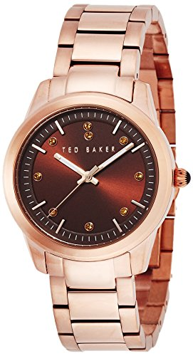 Ted Baker Three-Hand Stainless Steel - Rose-Gold Women's watch #TE4094